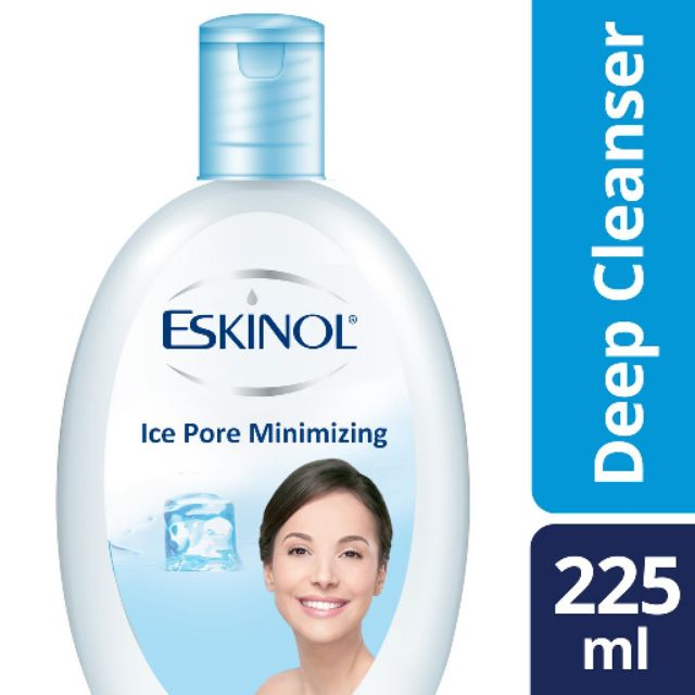 Eskinol Ice Pore Minimizing Facial Deep Cleanser With Ice Cool