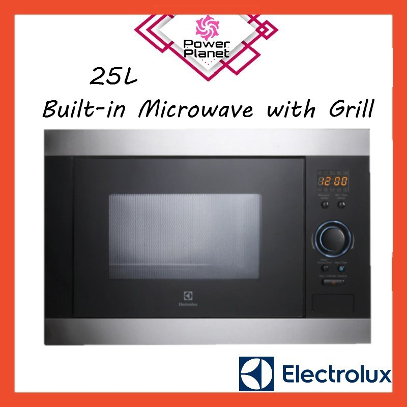 Electrolux Microwave Ems2540x 25l Built In With Grill