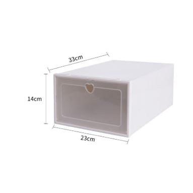 Shoe storage box (plastic)