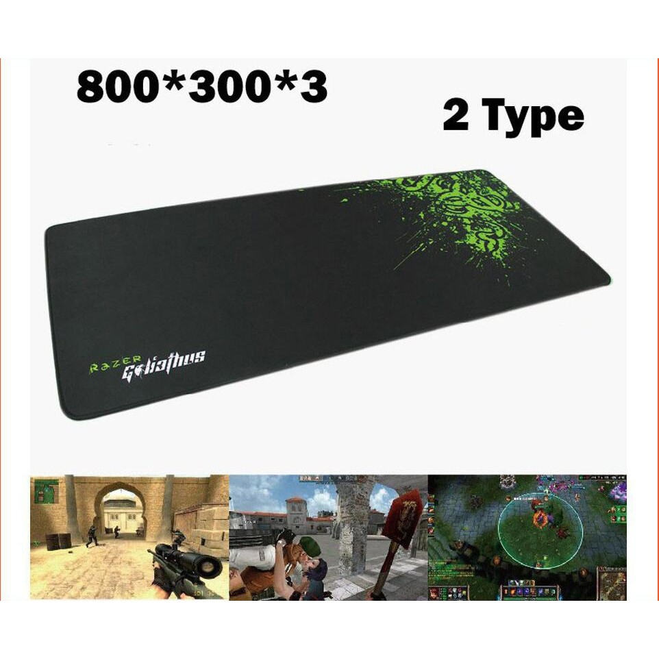 20a8eea1fbf 700* 300*3mm Large Size Rubber Razer Goliathus Mantis Speed Gaming Mouse  Pad Mat | Shopee Malaysia