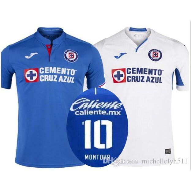 7f3786f83 Thailand Quality New 2019 2020 Mexico Club Cruz Azul Liga MX Soccer Jerseys  | Shopee Malaysia