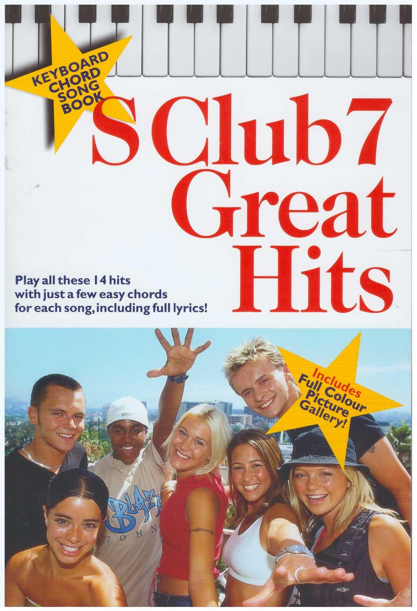 S Club 7 Great Hits / Keyboard Book