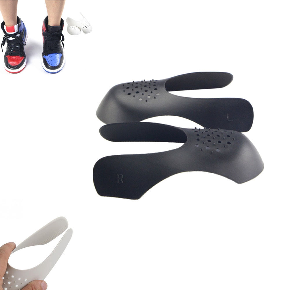 Sneaker Shields Prevent Front Creases Shoes Head Protector for Men Women 2 Pairs Shoes Shields Protector Against Shoe Creases