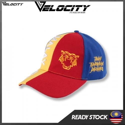 [READY STOCK] Velocity Velocool Malaysia Cap Flag Colour