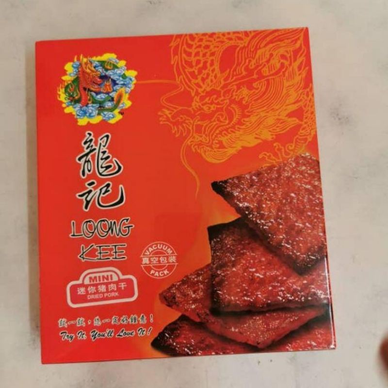 Loong Kee Mini Dried Meat  龙记迷你肉干 300g/500g