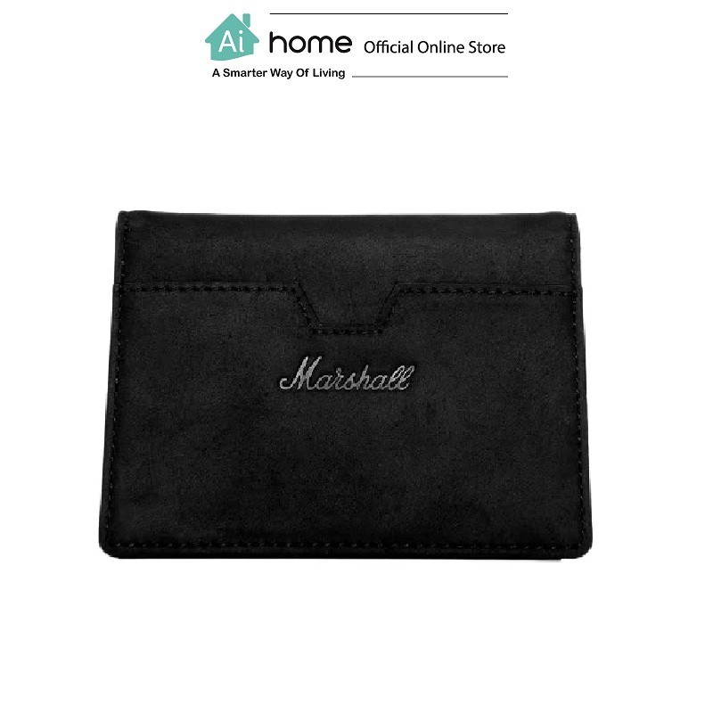 MARSHALL Suedehead Wallet (Black)  [ Ai Home ]