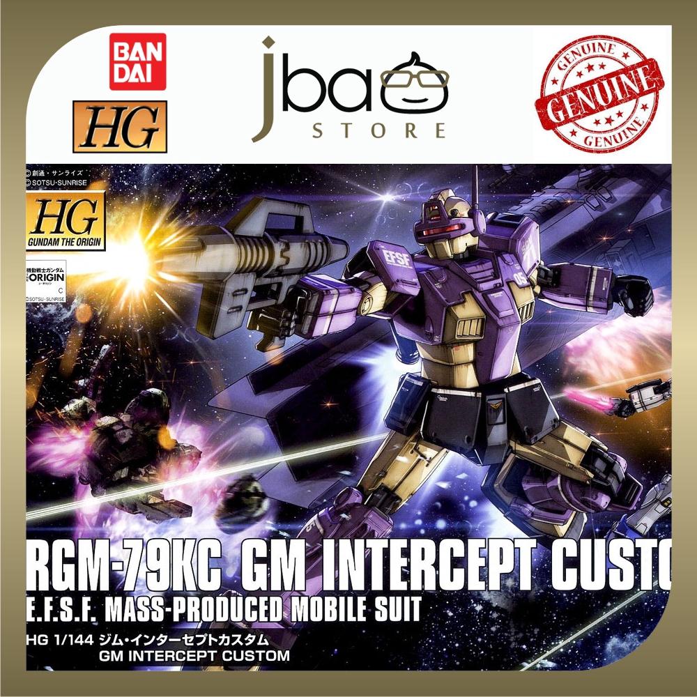Bandai 1/144 GM Intercept Custom HG Gundam The Origin 023 Mobile Suit