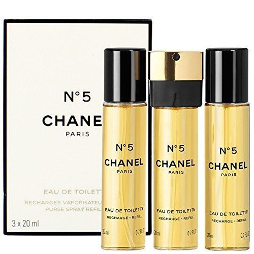 f005580b18c1 Chanel N°5 EAU DE PARFUM PURSE SPRAY 3X20ml