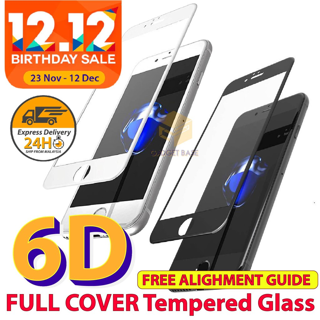 Buy Screen Protectors Online Mobile Gadgets Shopee Malaysia 3d Anti Glare Full Cover Tempered Glass Protector For Iphone 7 Plus 55 Inch Hitam