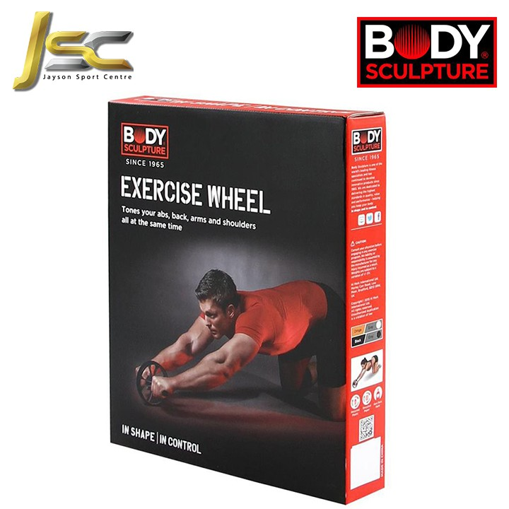 Home Fitness [ Body Sculpture- BB703 ] ABS Workout Wheel | Exercise Six Packs By AB Wheel & Fit your ABS At home!!
