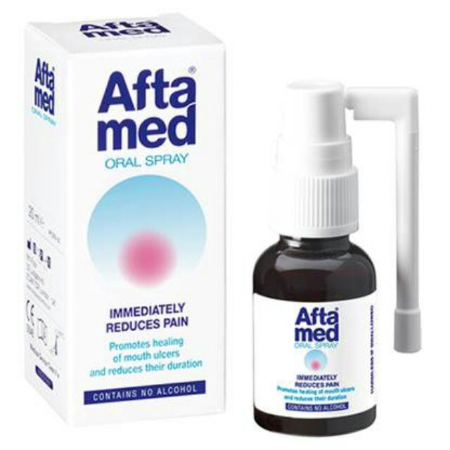 Aftamed Oral Spray 20ml (Heals Mouth Ulcer )