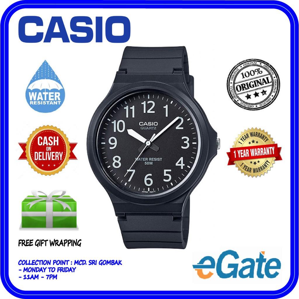 CASIO F-91W-3D Digital Men   Kids Green Line Stripe Black Resin Original  Watch  903f6b423a