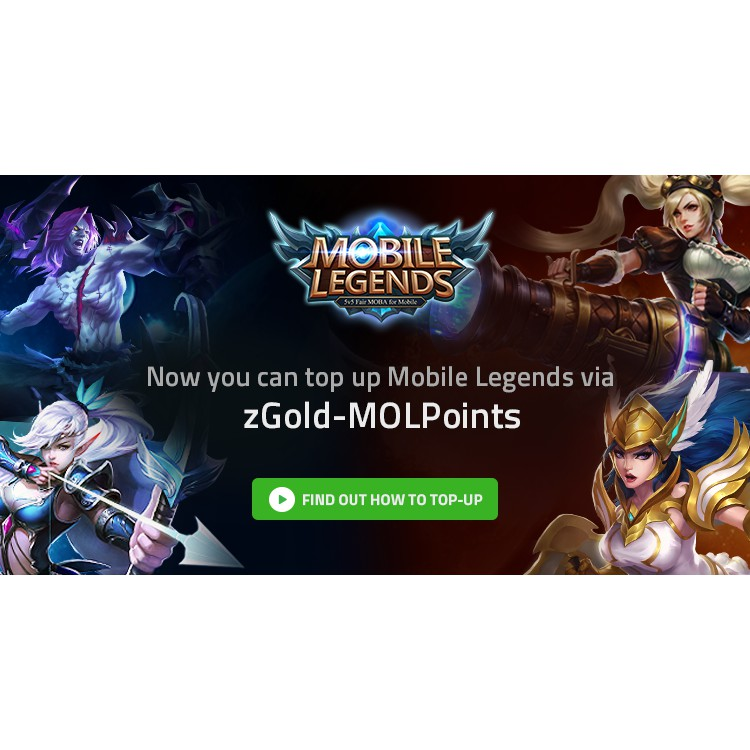 Mobile Legends Topup [LEGAL]