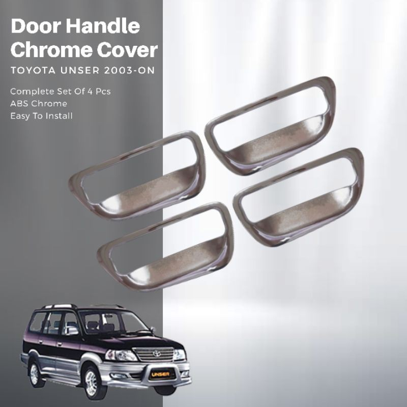Toyota Unser 2003 On Door Handle Chrome Cover