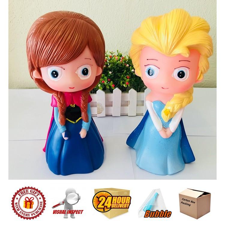 [End Stock Clearance] Frozen Coin Bank Elsa/ Anna
