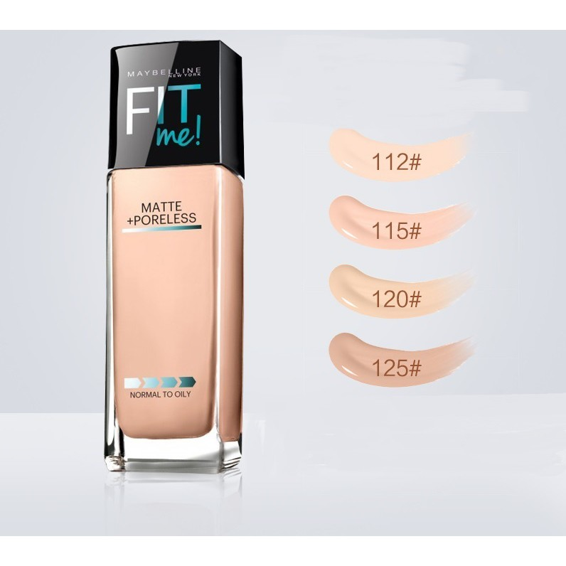 Maybelline fit me Foundation matte oil control concealer 30ml