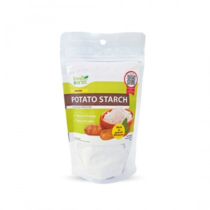 Love Earth Organic Potato Starch 250g 乐儿有机太白粉) / 有机薯粉 250公克 (袋装)