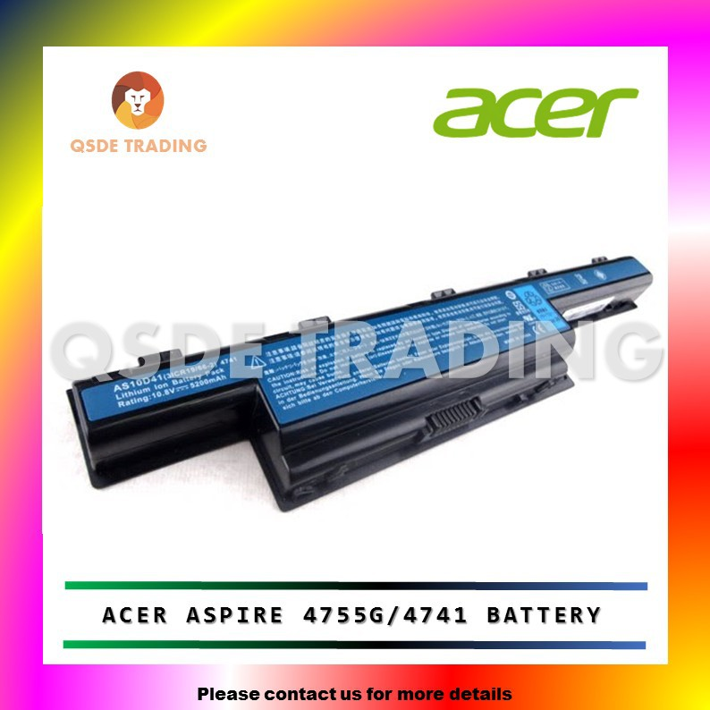 3 Acer Aspire 4738G 4738Z 4733Z 4738ZG 5741 5741G 4741G 4741Z Battery