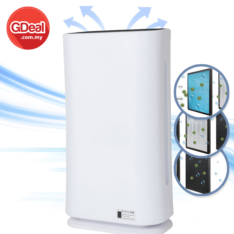 GDeal Ultraviolet Disinfection New Air Purifier Ultraviolet Sterilization And Disinfection Purifier Negative Ion