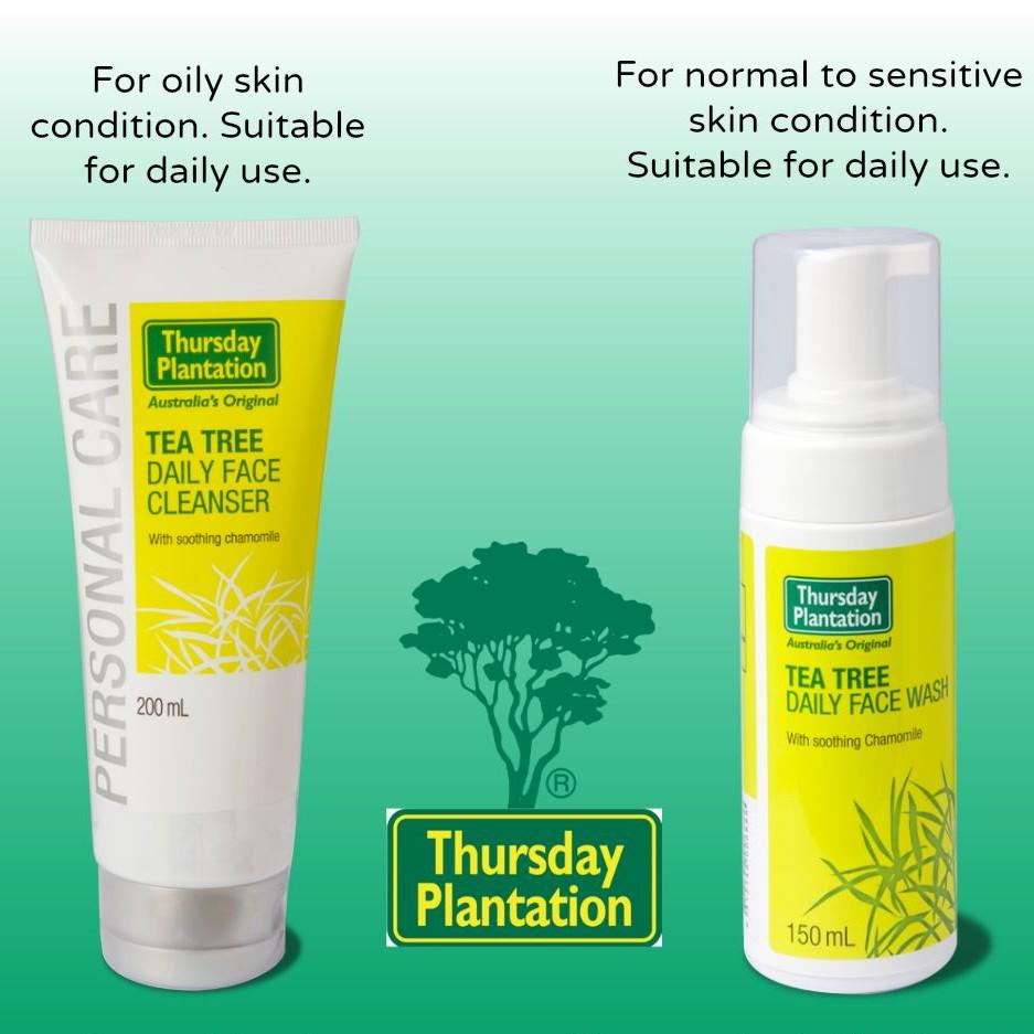 thursday plantation tea tree face wash