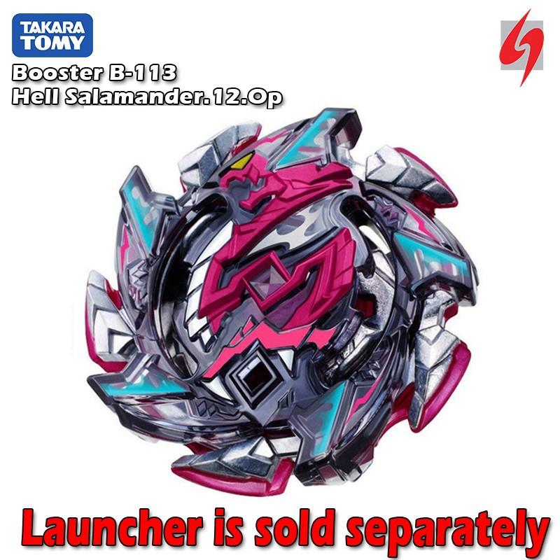 Original Takara Tomy Beyblade Burst Cho Z B 113 Booster Hell Salamander Shopee Malaysia