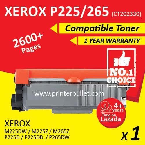 Fuji Xerox P225 / M225 / M265z / M225z / M225dw (CT202330) Compatible Toner
