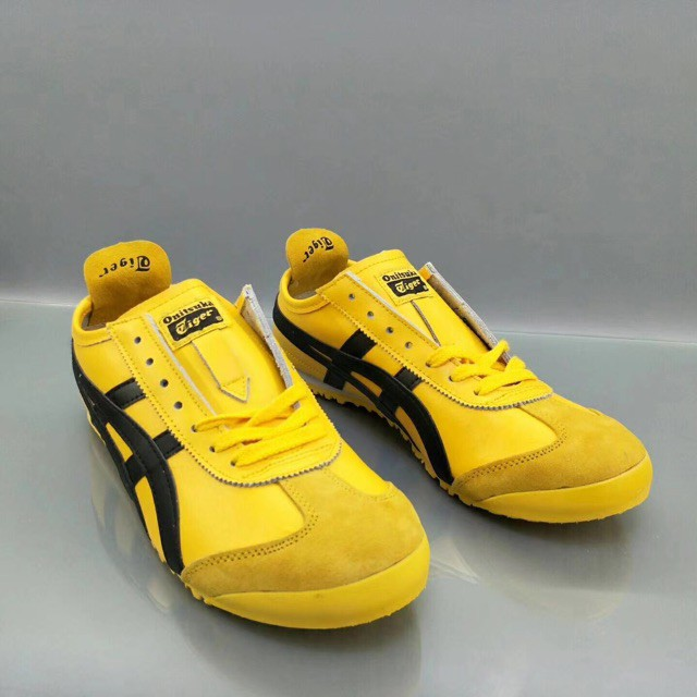 new arrival f16f5 8a96c Asics Onitsuka Tiger Mexico 66 Men Women Sport Shoes Casual Sneakers Yellow