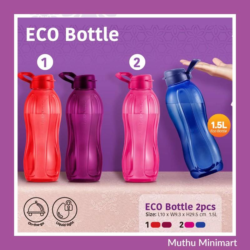 Original Tupperware    ECO Water Bottle   Botol Air 1.5L