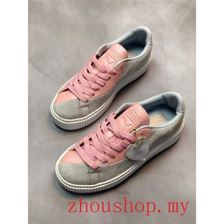 special discount of double coupon official site Puma Basket Platform Valentine Women Running Shoes Sport Sneakers Breathable
