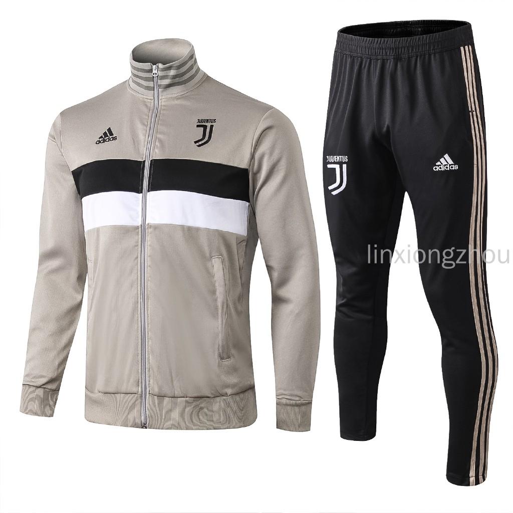 100% authentic d5ea5 5368b Top Quality 18/19 Juventus Football Jersey Jacket Set