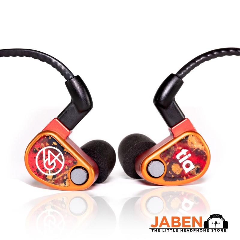 64 Audio u18t  Tzar 18BA 4-Way Professional Monitoring In-Ear Earphones [Jaben]