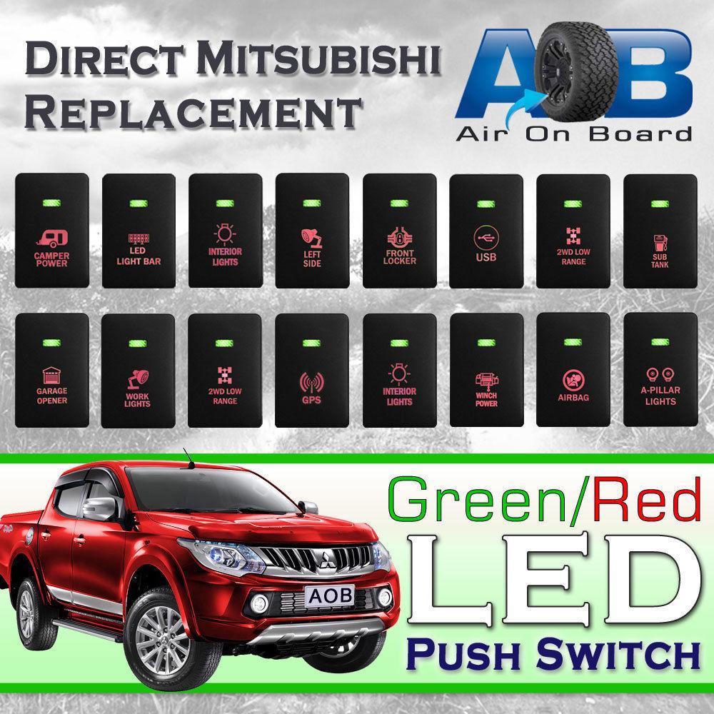 Qiilu Car Rocker LED Switch 12V Blue LED Car Auto On Off Rocker Toggle Switch for Hilux Landcruiser SPOT LIGHTS SPOT LIGHTS