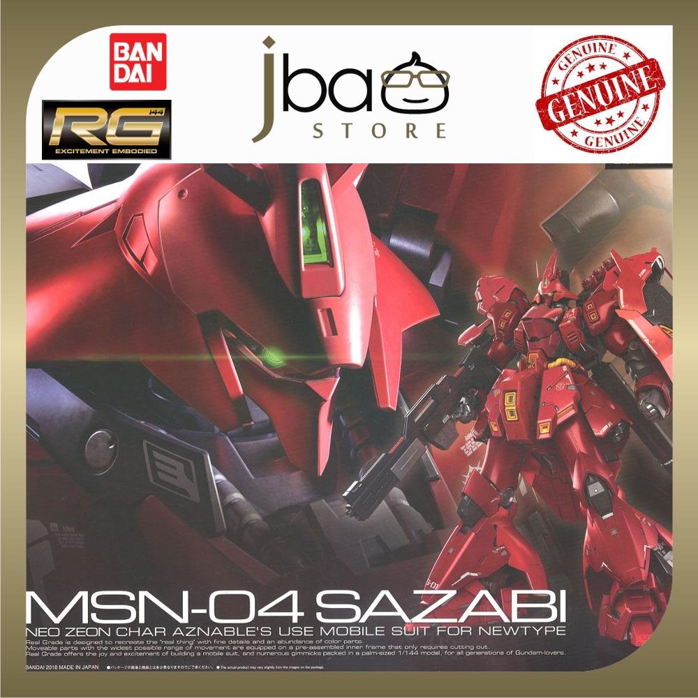 Bandai 1/144 MSN-04 Sazabi Neo Zeon Char Aznable's Mobile Suit RG 29