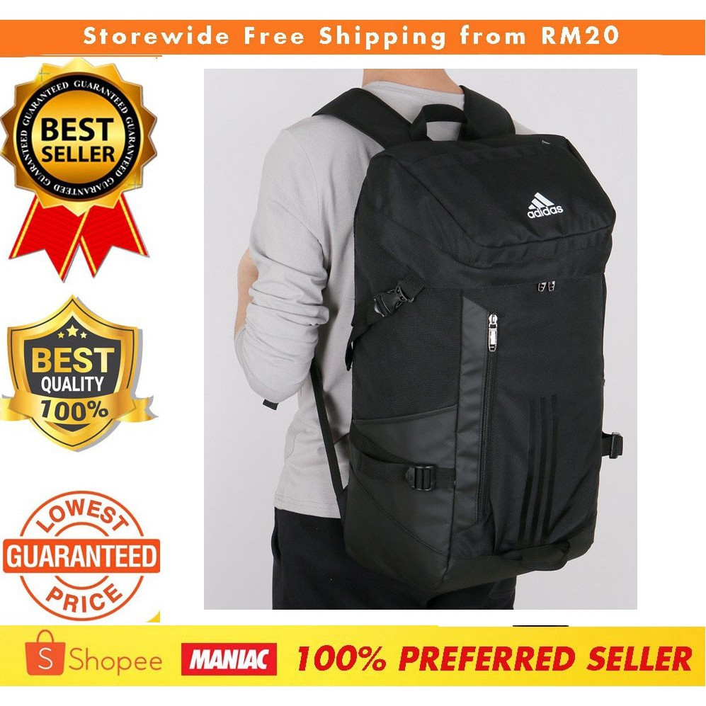 1d6896ab69ef Adidas 60L Outdoor Sport Backpack Waterproof Large Travel