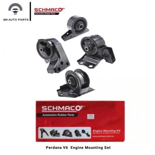Proton Perdana V6 Engine mounting Schmaco(1Set 4Pcs)