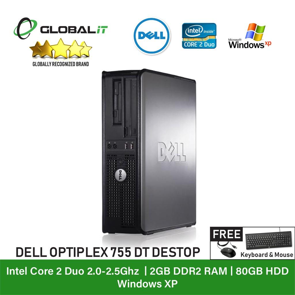 (Refurbished Desktop) Dell Optiplex 360 / 755 / 960 / Desktop / Intel Core  2 Duo