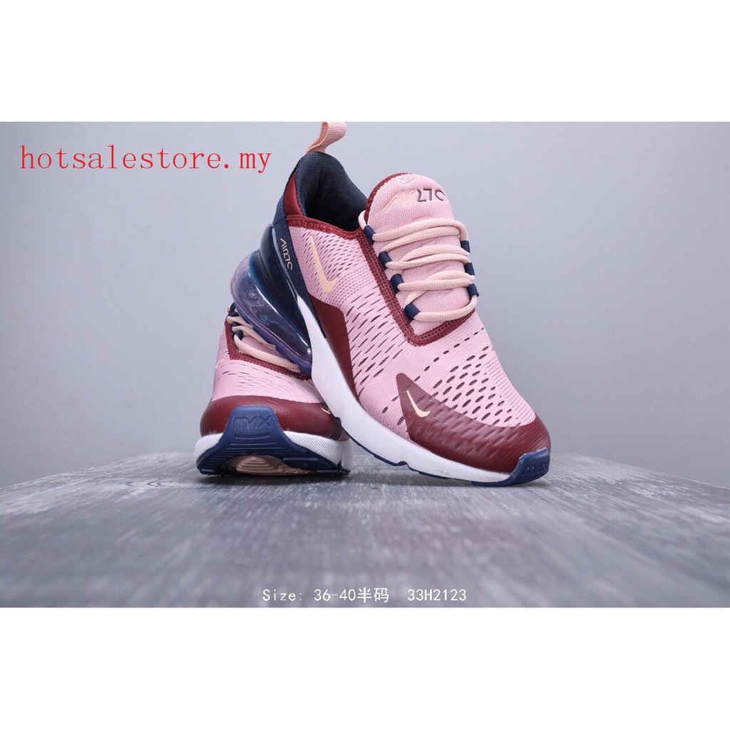 online store a3079 323bb Nike Air Max 270 Women's Running Shoes Airmax 27C Sport Sneaker Walking  Training