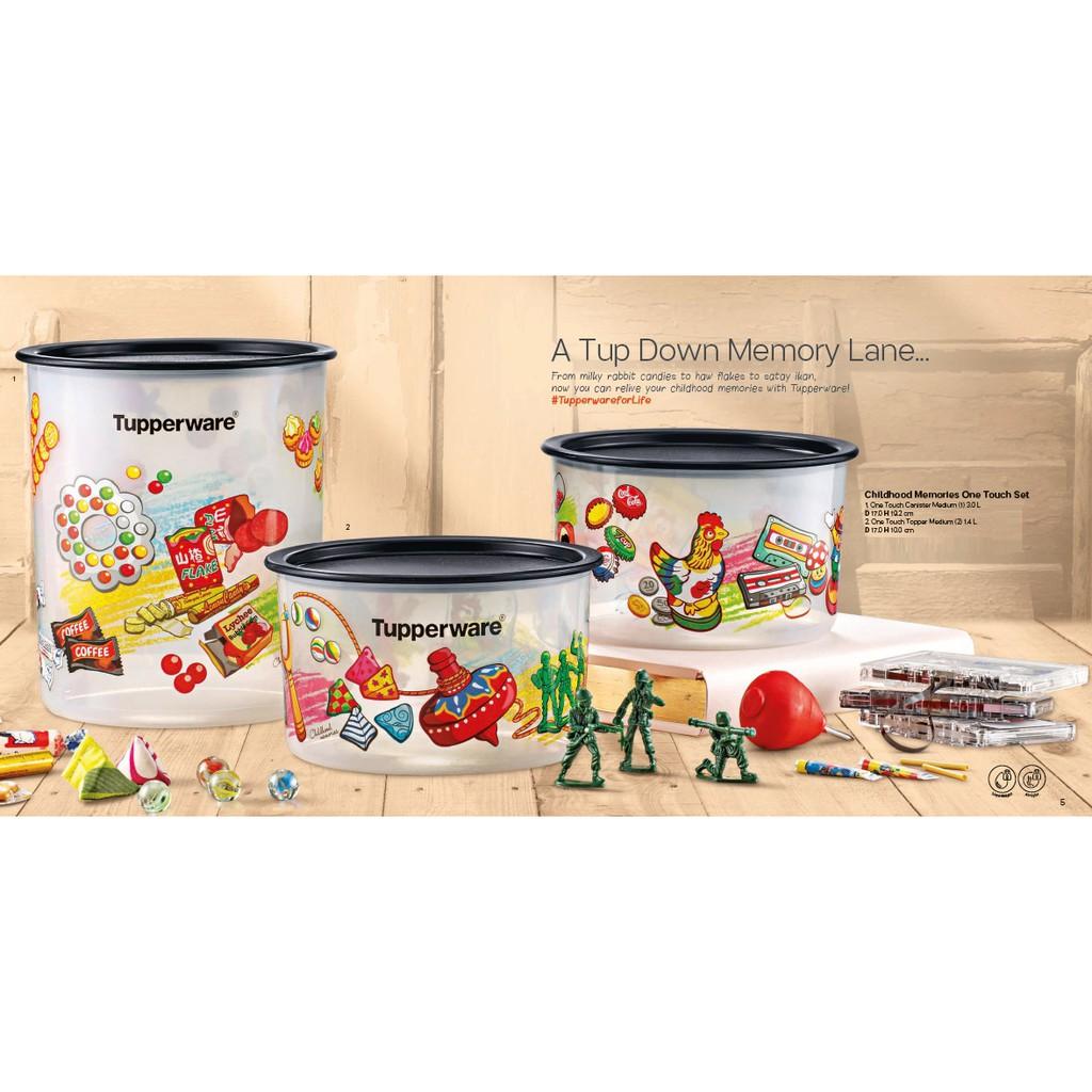 【ORI】Tupperware CHILDHOOD MEMORIES ONE TOUCH SET (3)