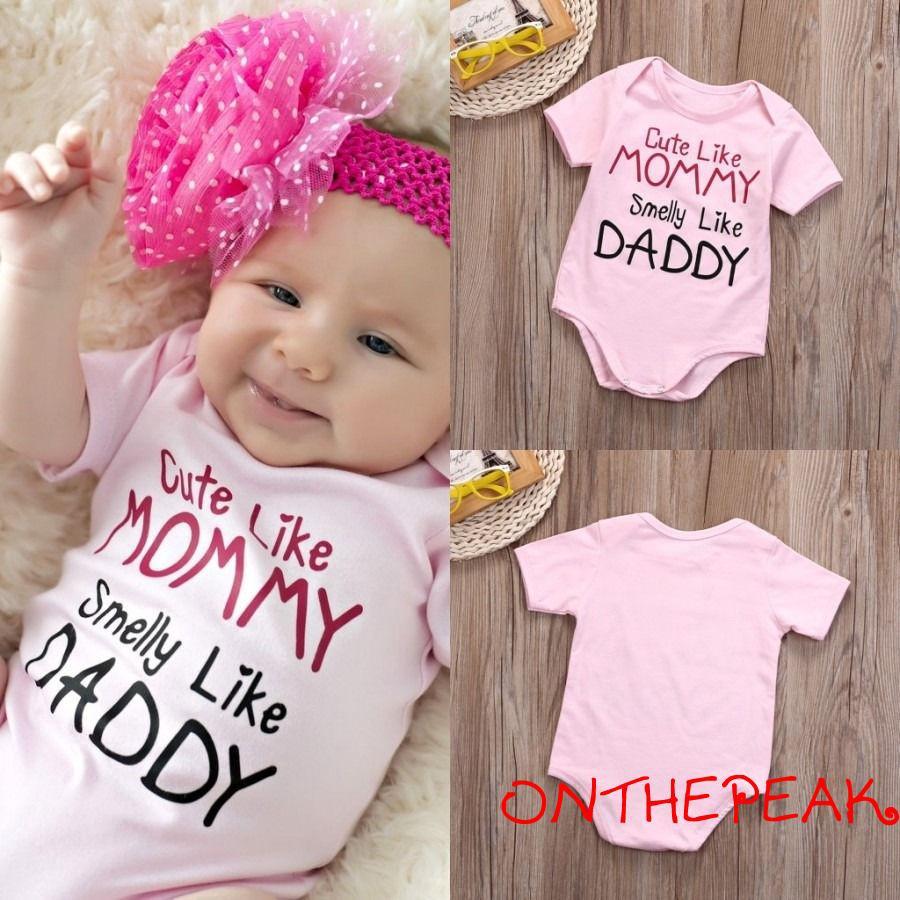 Infant Newborn Toddler Kids Baby Girls Sleeveless Romper Jumpsuit Bodysuit Hat