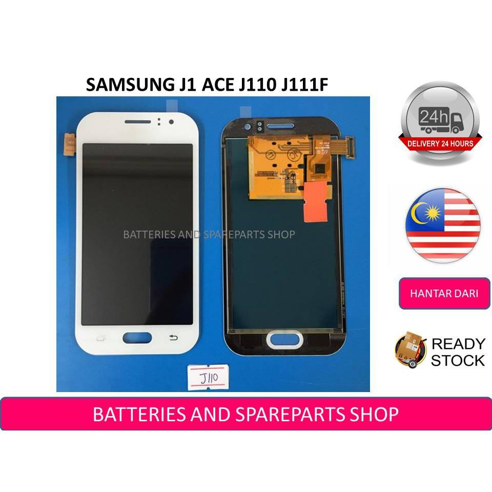 BSS Samsung J1 Ace J110 J111F J110G Lcd + Touch Screen Digitizer Sparepart