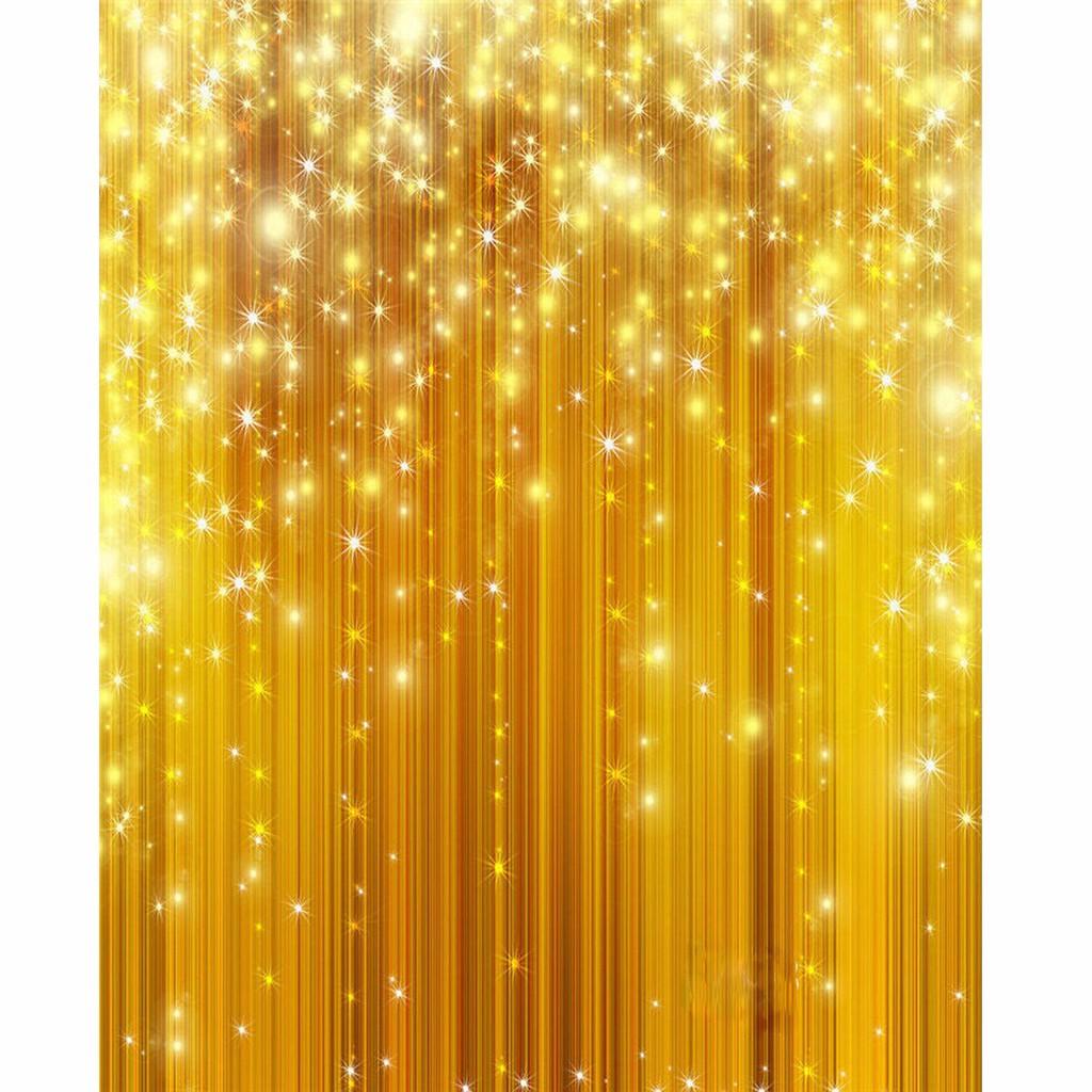 5x7ft Golden Glitter Vinyl Studio Photography Backdrop Wedding Background Pr Db Shopee Malaysia