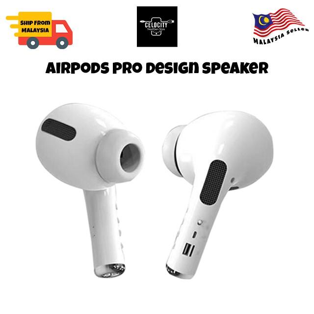 AirPods Pro Big Size Bluetooth TWS Dual Portable Speaker MK-201