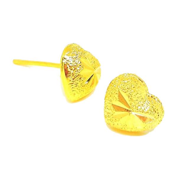 ต่างหูทองรูปหัวใจเต็มดวงค่ะ ♥️ ต่างหูงานเศษทอง ต่างหูทองไมครอน ต่างหูหัวใจ ต่างหูทองสวย