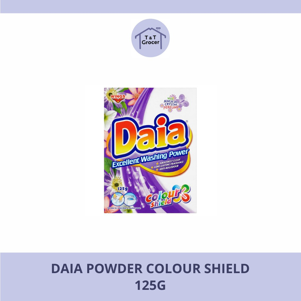 Daia Powder 125g (Colour Shield/ Floral/ Lemon)