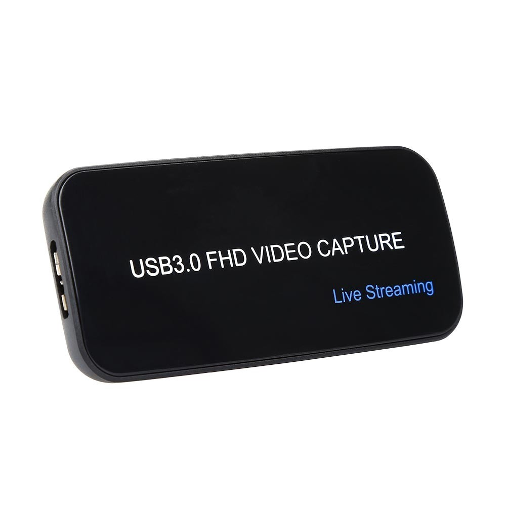 USB 3 0 FHD Drivefree 1080P 60FPS Video Capture Box For PS3 PS4 Xbox OBS VLC