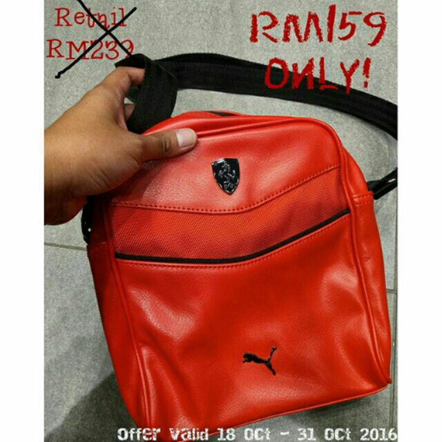 b2be6f5a85ee PUMA Ferrari Mini Sling Bag