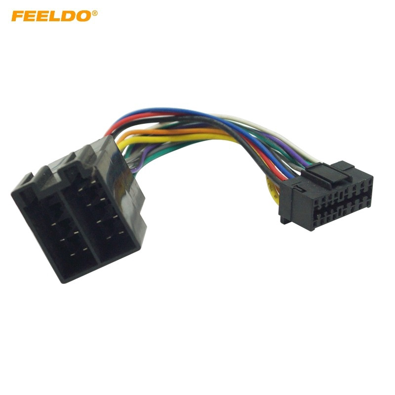 16 Pin Sony Car Stereo Wiring Diagram from cf.shopee.com.my