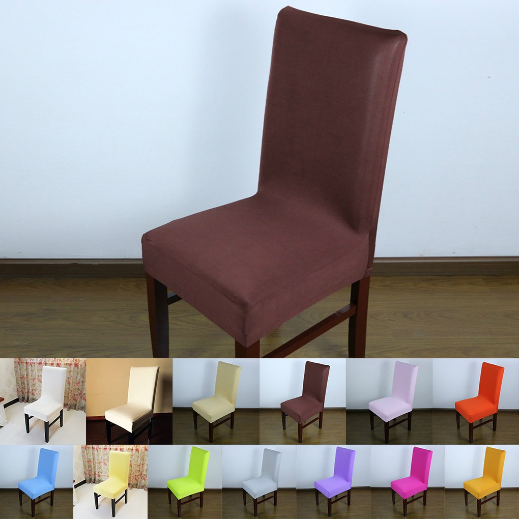 Groovy Simple Chair Cover Wedding Decoration Solid Dining Chair Covers Hotel Chair Andrewgaddart Wooden Chair Designs For Living Room Andrewgaddartcom