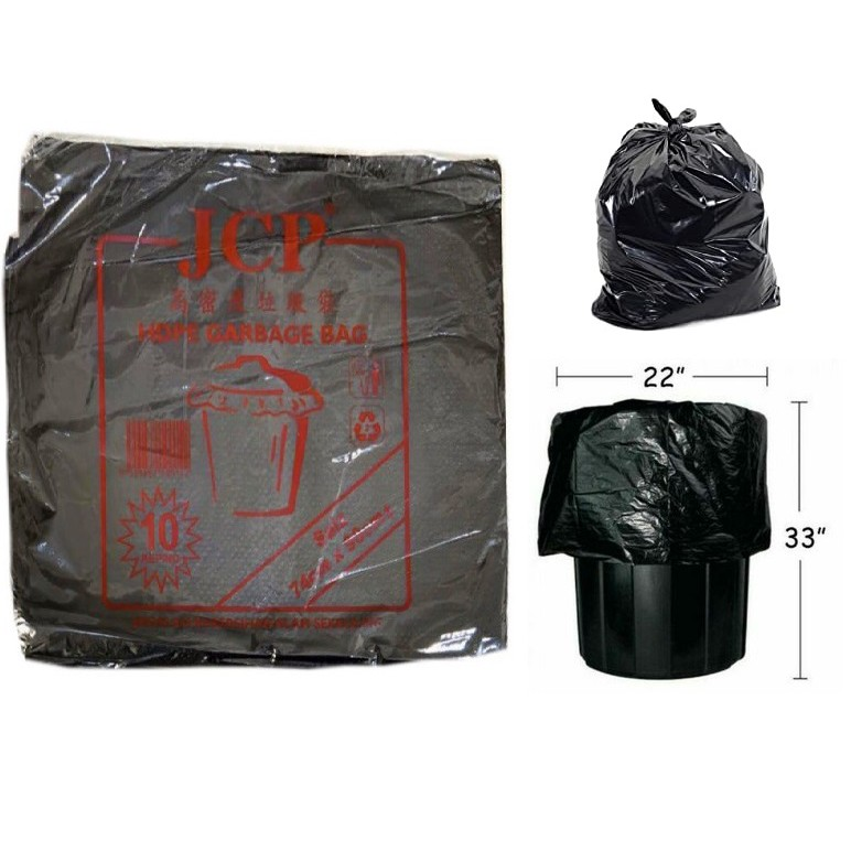74cm x 90cm HDPE Large Garbage Bag -10 Pcs/10 Keping] / Beg Sampah ( 74cm x 90cm )
