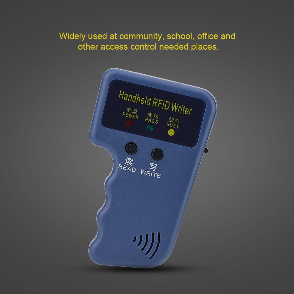 Handheld RFID ID Card Copier/ Reader/Writer 6 Writable Tags/6 Cards GYIJ